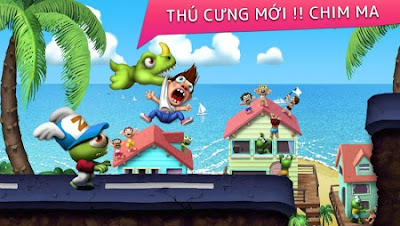 Tải Game Zombie Tsunami Hack Full Tiền Cho Java Android IOS