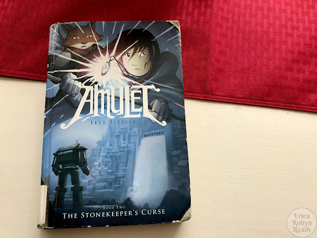 Graphic Novel Review of The Stonekeeper's Curse by Kazu Kibuishi