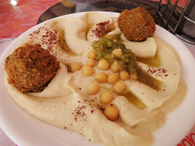 comida tipica jordania