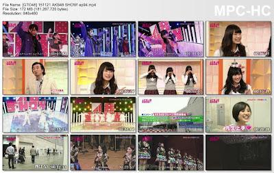 151121 AKB48 SHOW! Ep 94 Subtitle Indonesia