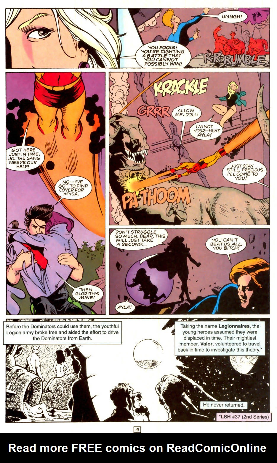 Legion of Super-Heroes (1989) 53 Page 19