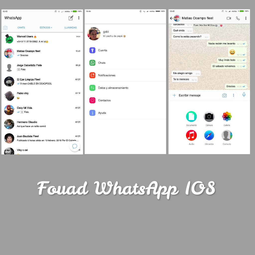 whatsapp fouad mods