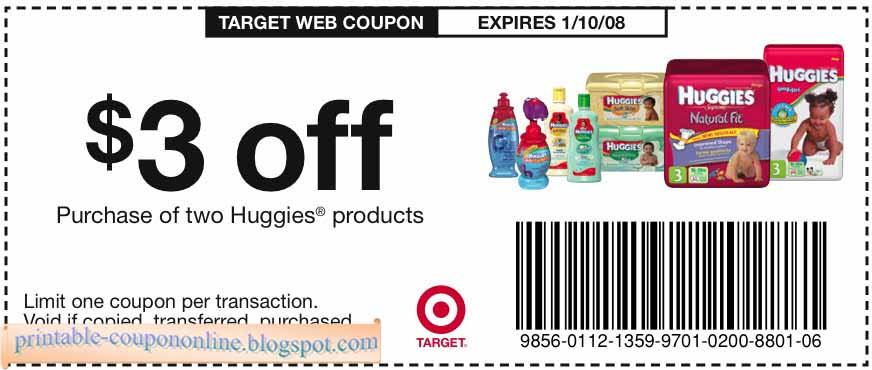 Target store coupons 2018