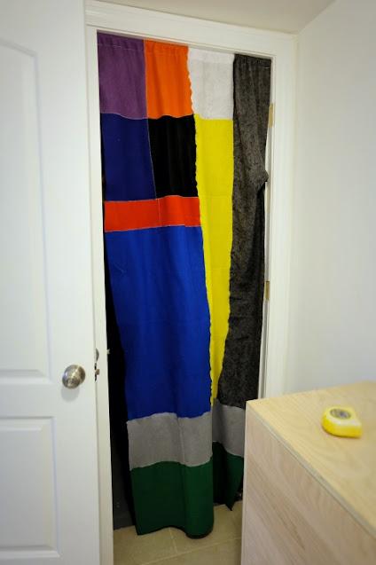 felt curtain