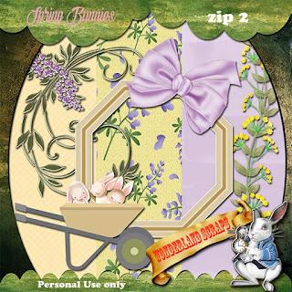 Spring Bunnies 2 freebie