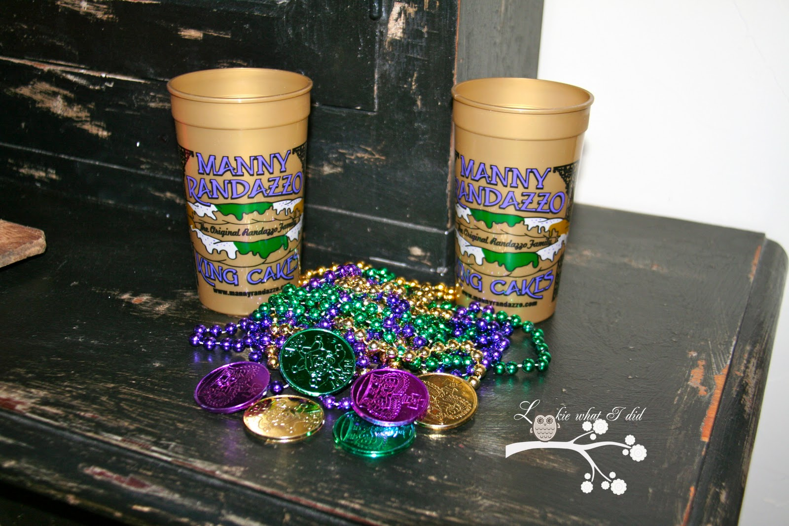 Lookie What I Did A Mardi Gras Welcome