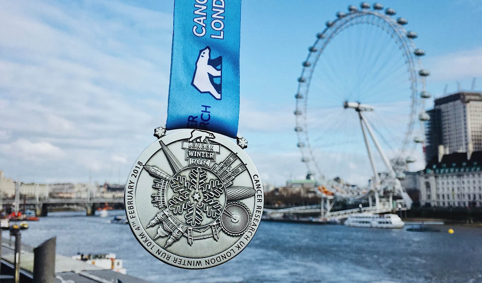 London Winterrun Medal