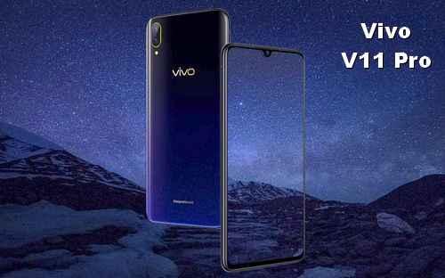 Desain dan fitur layar Vivo V11 pro