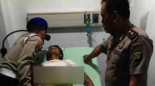 Polisi korban begal sadis