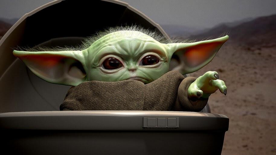 Baby Yoda, The Mandalorian, 4K, #7.976
