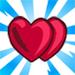 viral ValentinesDay doubleheart75x75 - Materiais CityVille: O evento do dia dos Namorados