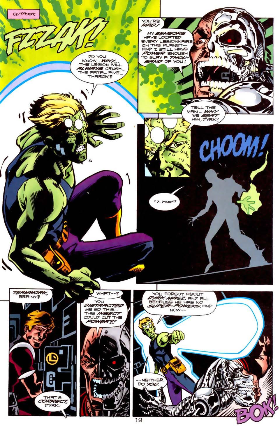 Legion of Super-Heroes (1989) 121 Page 18