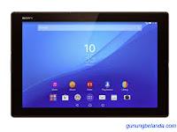 Cara Flashing Sony Xperia Z4 Tablet SGP712 Via Flashtool