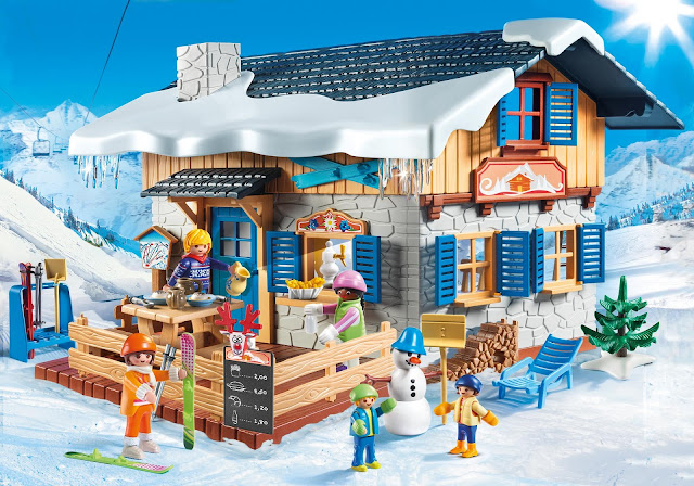 Win The New Playmobil Ski Lodge In The Ice Ice Baby Giveaway Hop Ends 1/31