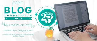 Lomba Blog Prelo Deadline 20 Agustus 2017