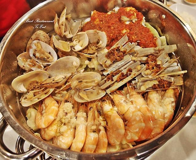 Kai's Plato Seafood Restaurant Steam Seafood Tier 2