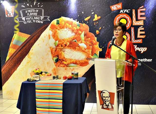 Ms Angelina Villanueva  Senior General Manager, KFC Malaysia Marketing