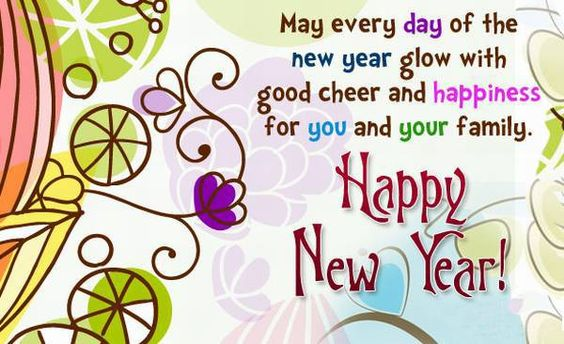 48 Happy New Year Message Images and Pictures for friends and family ...