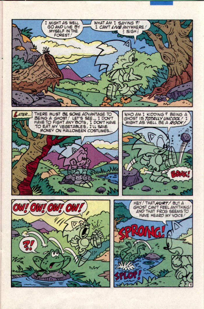 Read online Sonic The Hedgehog comic -  Issue #20 - 10