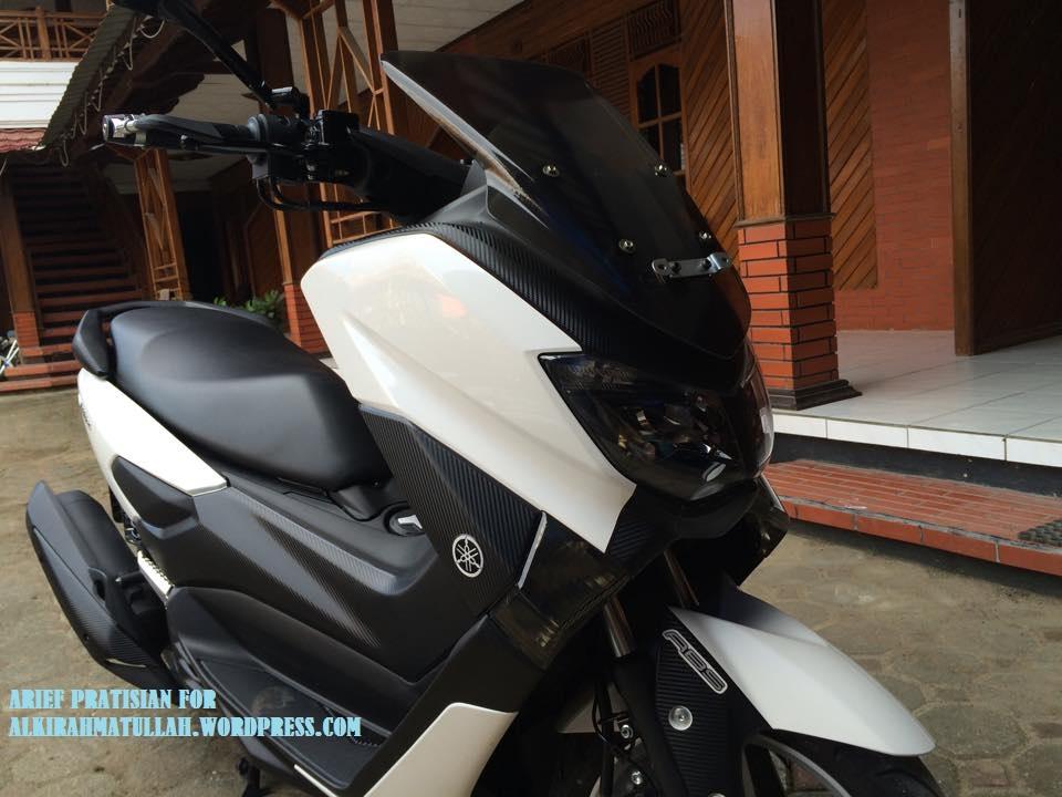 modifikasi motor yamaha nmax foto gambar38  terbaru