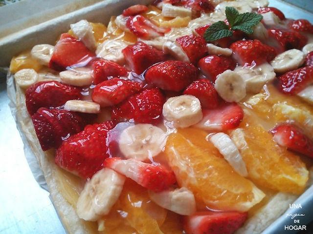 10 recetas navideñas que puedes hacer con antelación, tarta de frutas