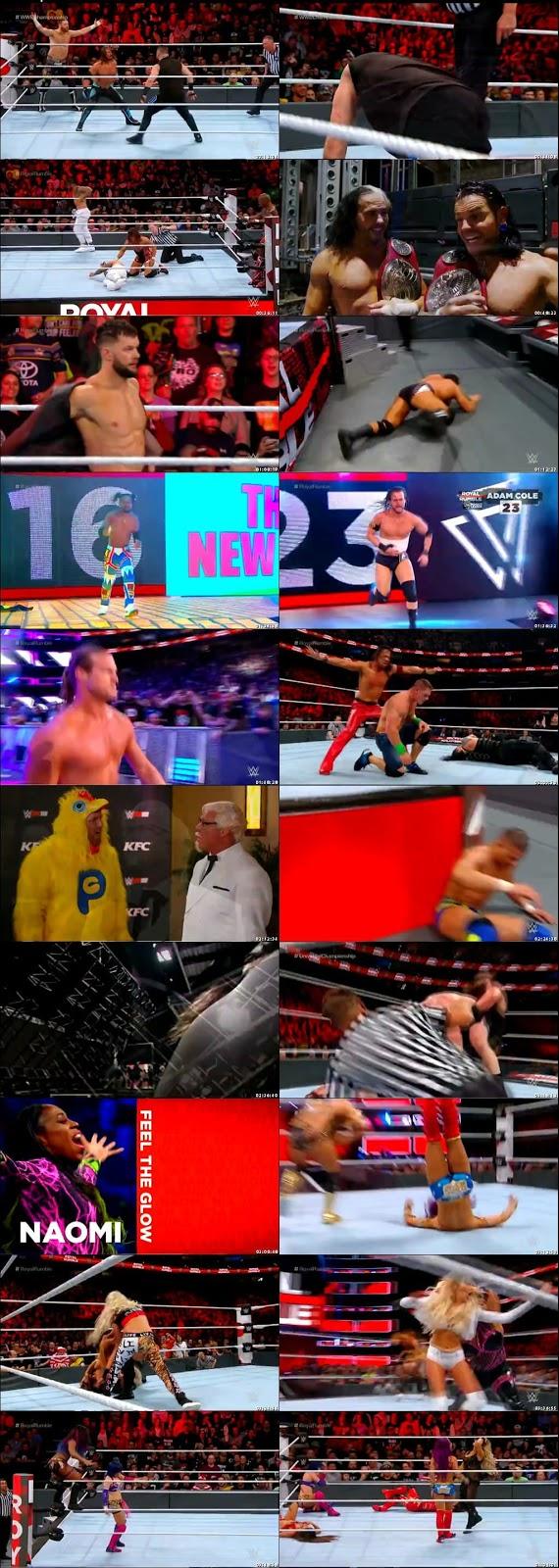 WWE Royal Rumble 2018 PPV English