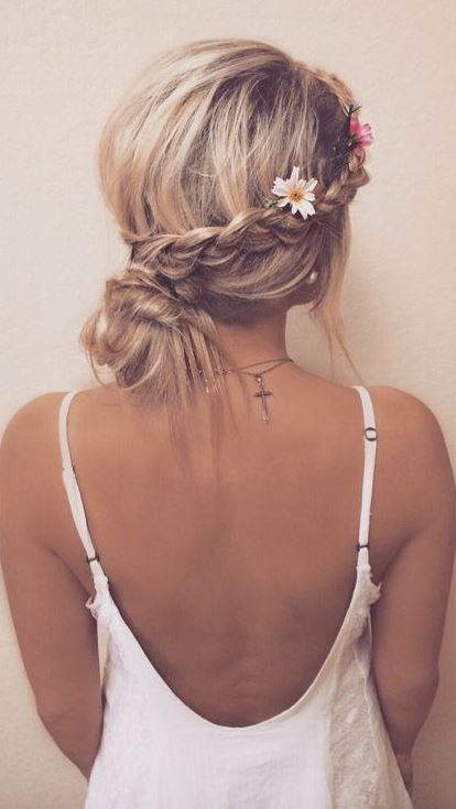 cute boho hairstyles you also can try
