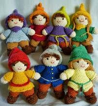 http://www.ravelry.com/patterns/library/amigurumi-crochet-pattern-seven-dwarfs