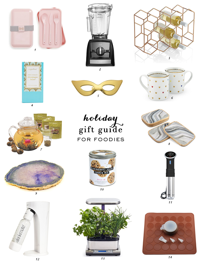 Holiday Gift Guide, Gift Guide, Gift Ideas, Holiday Gifting, Gifts for Foodies, Food & Cooking Gifts