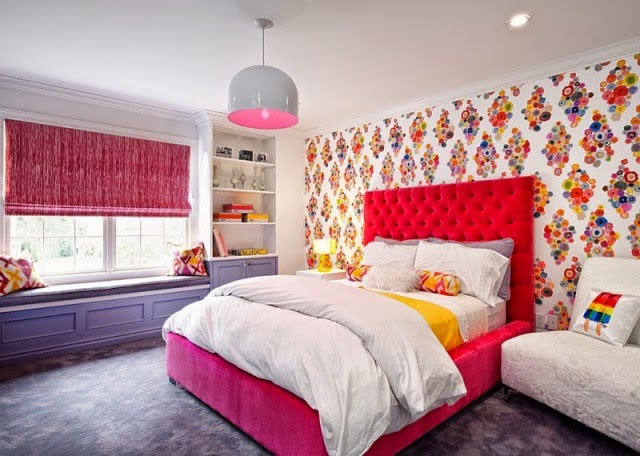Dise os de dormitorios para chicas j venes dormitorios for Disenos de paredes para dormitorios