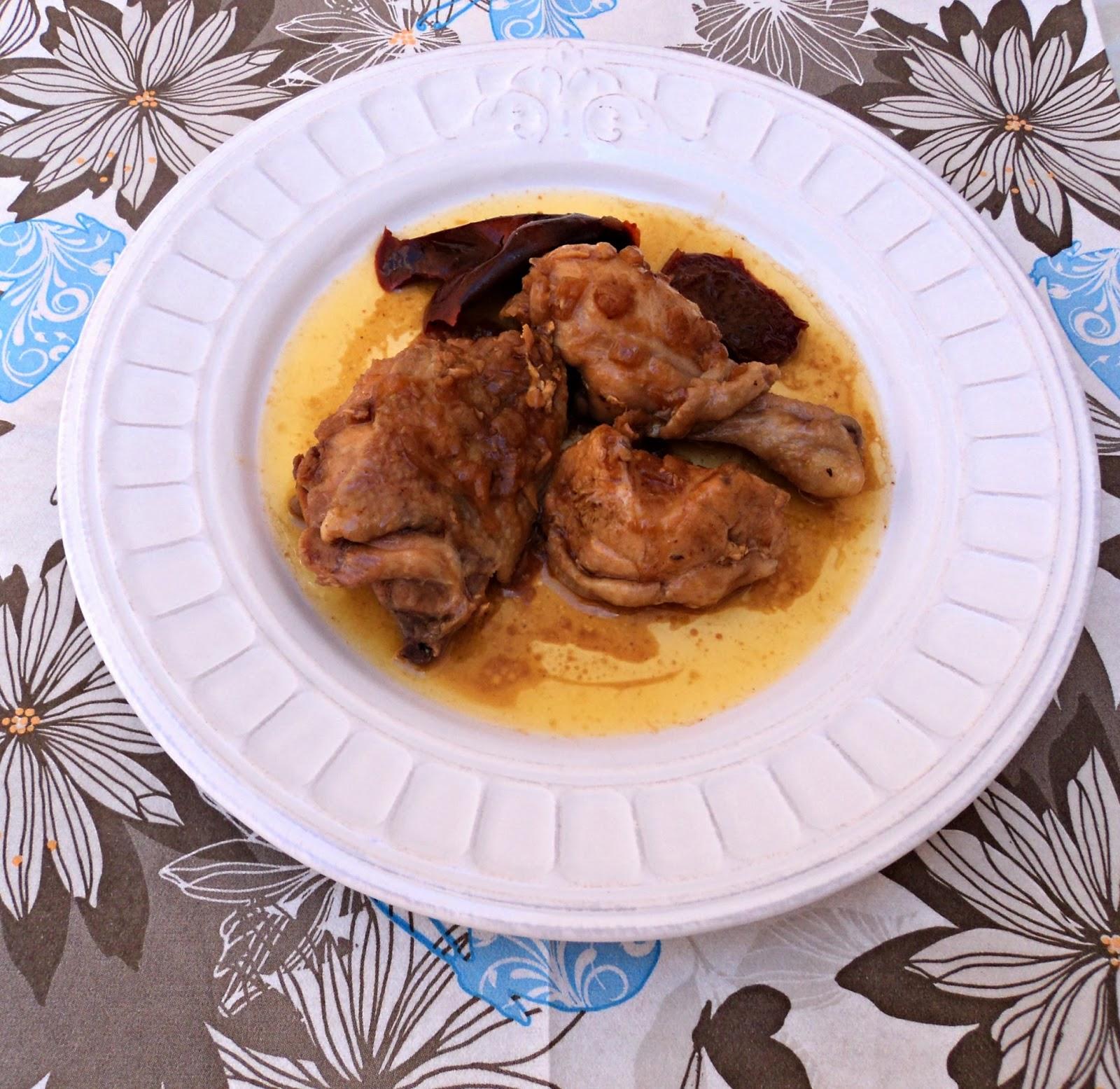 receta casera pollo salsa cerveza