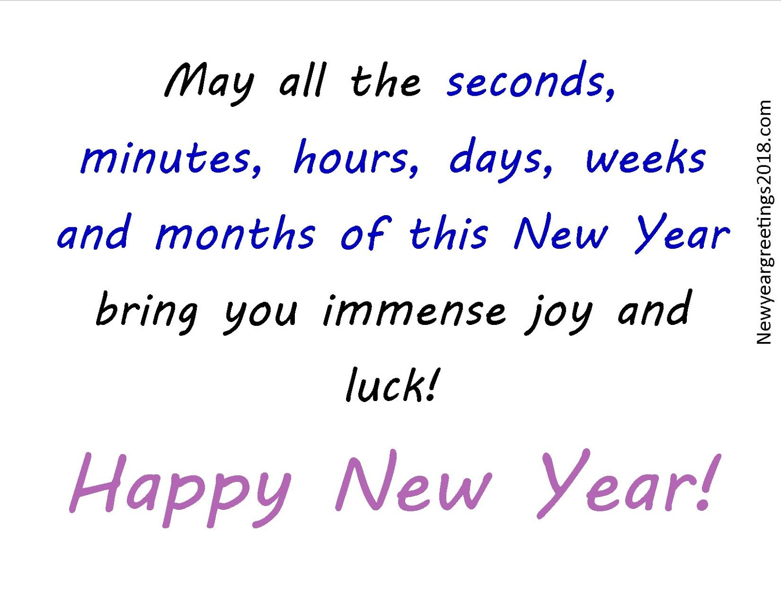 Happy New Year Wishing Image Quote 2018