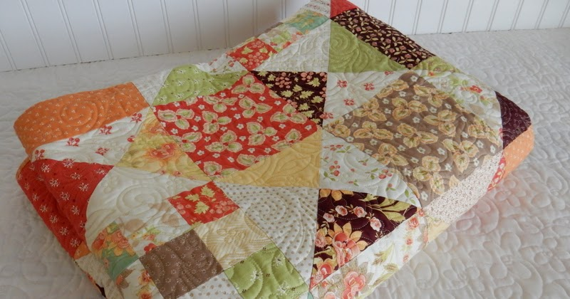 A Scrappy Quilt Finish