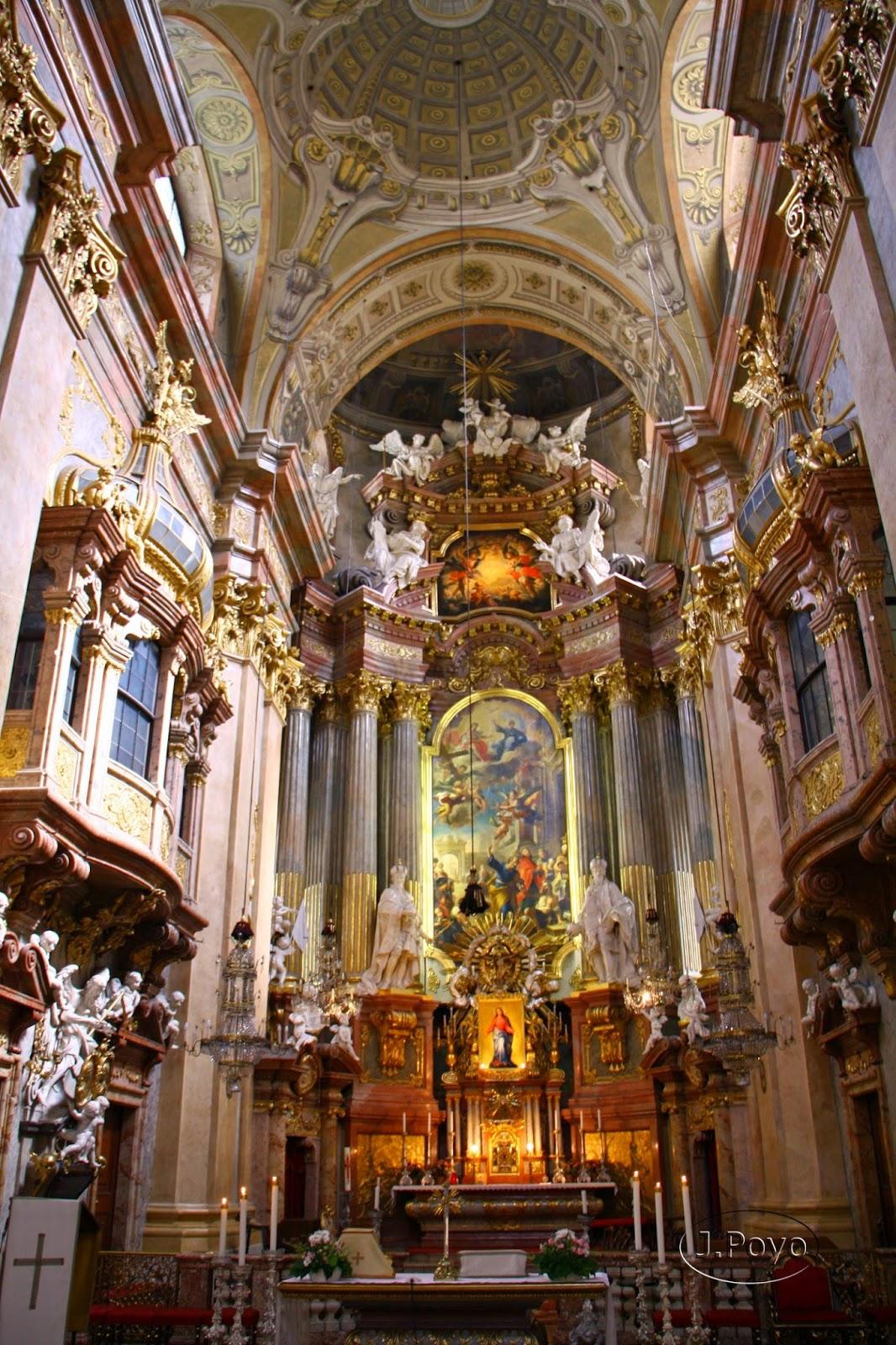 St Peterkirchen: iglesia de San Pedro de Viena
