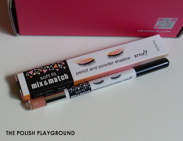 Memebox Special #43 K-Style 3 Unboxing - Style Y Soft Fit Mix & Match Pencil and Powder Shadow in 03 Deep Choco Liner & Gold Tip