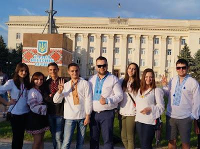 """Херсонська команда ВО """"Свободи"""""""