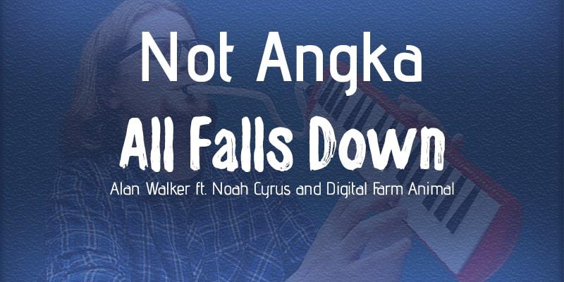 not pianika all falls down alan walker