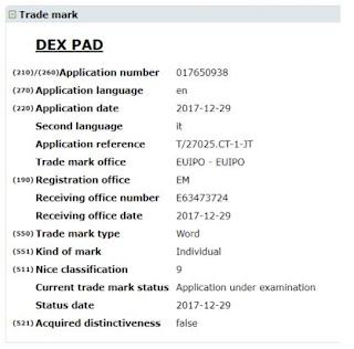 dex-pad-patente