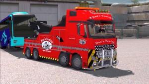 Mercedes Crane Truck + Cargo Pack