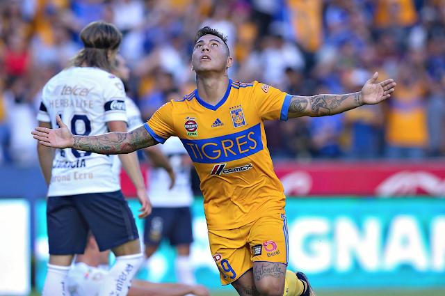 Tigres ganó 2-0 a Pumas
