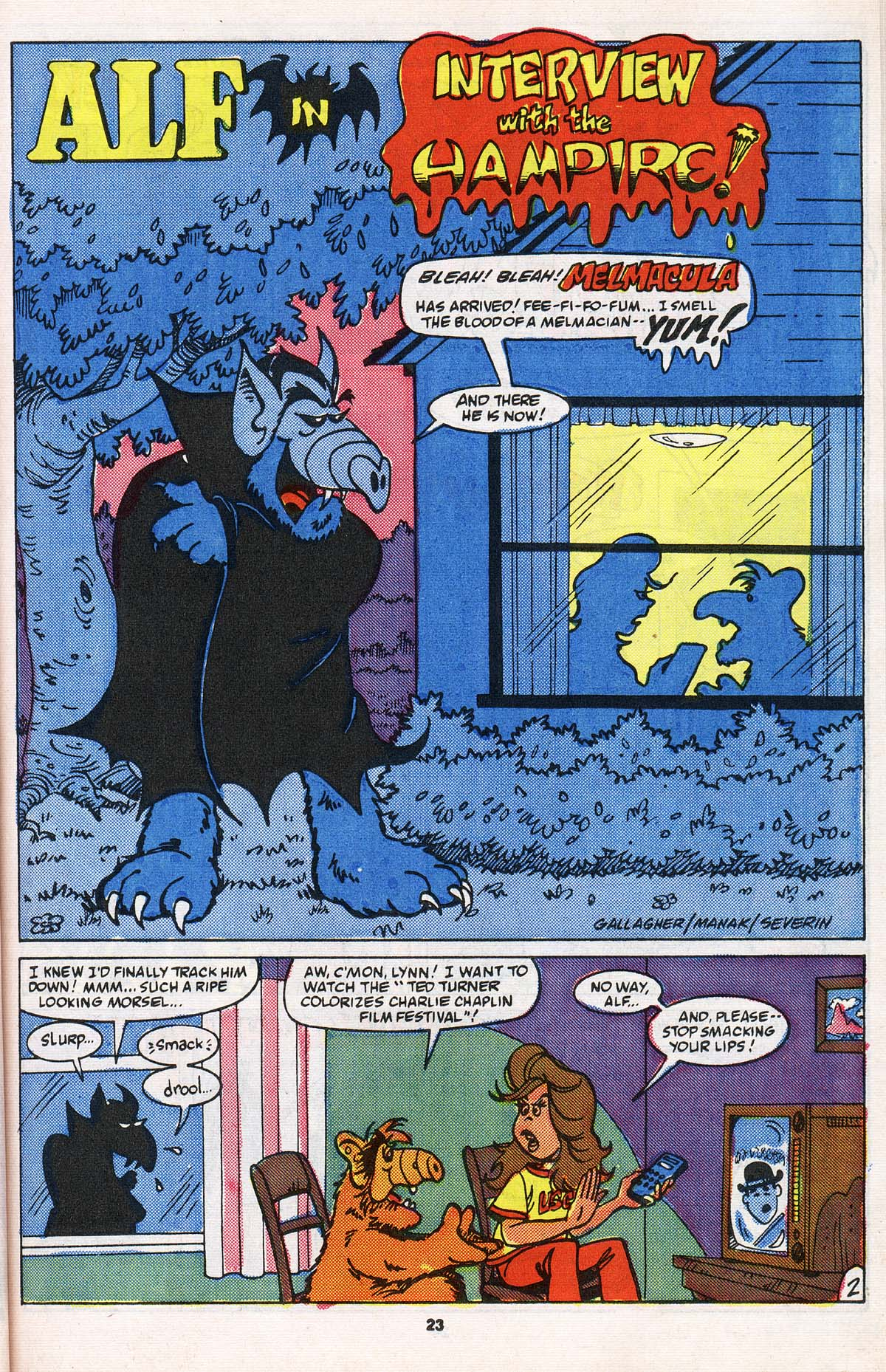 Read online ALF comic -  Issue # _Annual 2 - 21