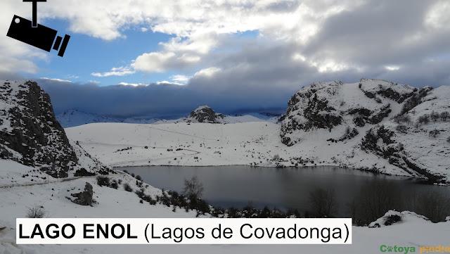 Webcam Lagos de Covadonga en Picos de Europa