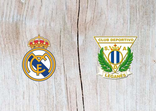 Real Madrid vs Leganes Full Match & Highlights 9 January 2019