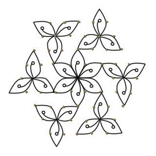 SIMPLE RANGOLI PATTERNS « Patterns