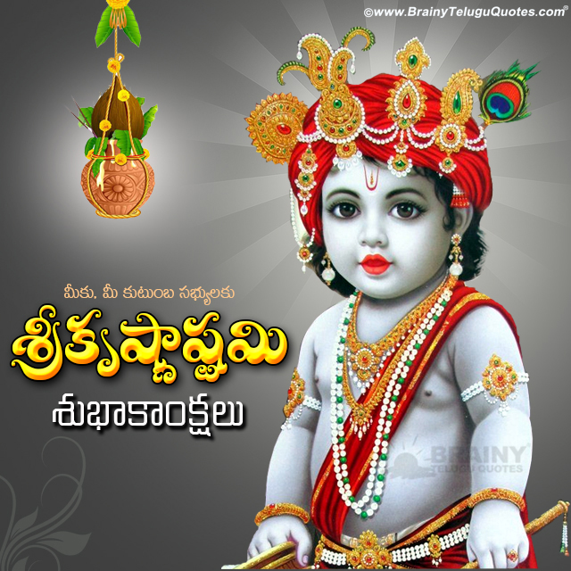 Srikrishna Janmastami Telugu Nice Images and Greetings Pictures, Best Telugu Srikrishna Janmastami Pictures Free, Top Srikrishna Janmastami Wishes Images online, Srikrishna Janmastami Telugu Wallpapers, Top Telugu Srikrishna Janmastami Greting Cards Online, Telugu Srikrishna Janmastami Photos and Slogans Images.