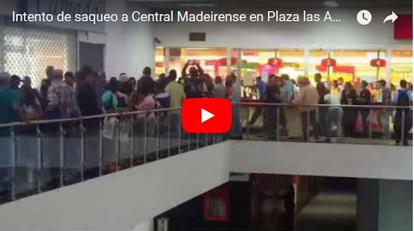 Casi saquean la Central Madeirense de Plaza Las Américas por error del sistema