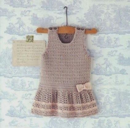 Easy dress in crochet explanation in beautiful model ...