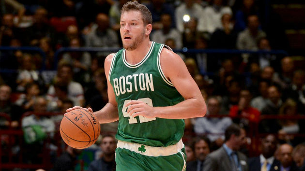 David Lee, ailier-fort des Boston Celtics