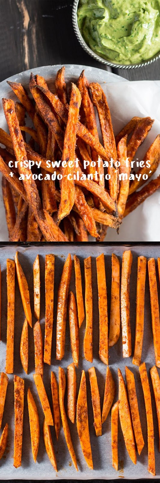 CRISPY SWEET POTATO FRIES WITH AVOCADO-CORIANDER DIP   #DESSERTS #HEALTHYFOOD #EASYRECIPES #DINNER #LAUCH #DELICIOUS #EASY #HOLIDAYS #RECIPE #SPECIALDIET #WORLDCUISINE #CAKE #APPETIZERS #HEALTHYRECIPES #DRINKS #COOKINGMETHOD #ITALIANRECIPES #MEAT #VEGANRECIPES #COOKIES #PASTA #FRUIT #SALAD #SOUPAPPETIZERS #NONALCOHOLICDRINKS #MEALPLANNING #VEGETABLES #SOUP #PASTRY #CHOCOLATE #DAIRY #ALCOHOLICDRINKS #BULGURSALAD #BAKING #SNACKS #BEEFRECIPES #MEATAPPETIZERS #MEXICANRECIPES #BREAD #ASIANRECIPES #SEAFOODAPPETIZERS #MUFFINS #BREAKFASTANDBRUNCH #CONDIMENTS #CUPCAKES #CHEESE #CHICKENRECIPES #PIE #COFFEE #NOBAKEDESSERTS #HEALTHYSNACKS #SEAFOOD #GRAIN #LUNCHESDINNERS #MEXICAN #QUICKBREAD #LIQUOR