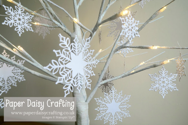 Snowfall thinlits - Stampin Up